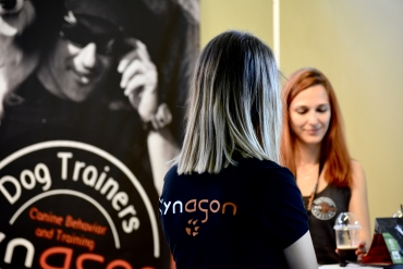 kynagon Academy in Discover Dogs Festival Thessaloniki 2018